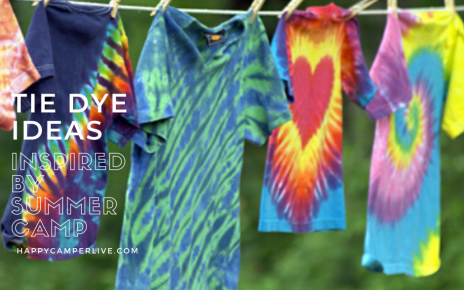 Tie dye ideas for summer camp!