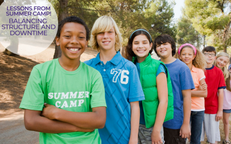 What parents can learn from summer camp
