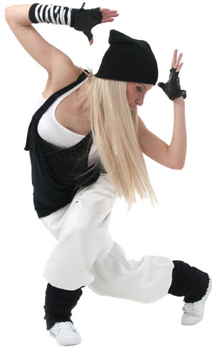 hip hop dance activity at virtual summer camp for kids