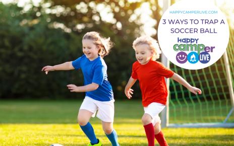 kids chasing soccer ball