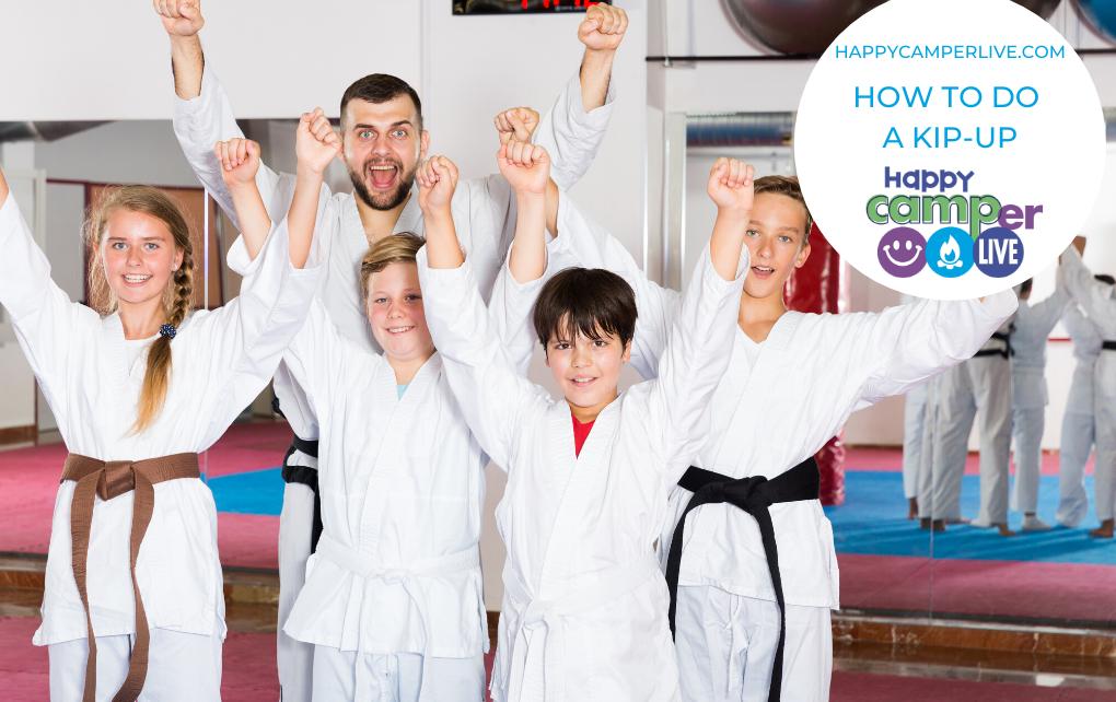 kids in taekwondo uniforms