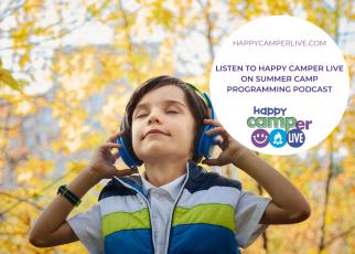 kid listening to headphones