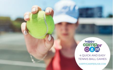 girl holding tennis ball