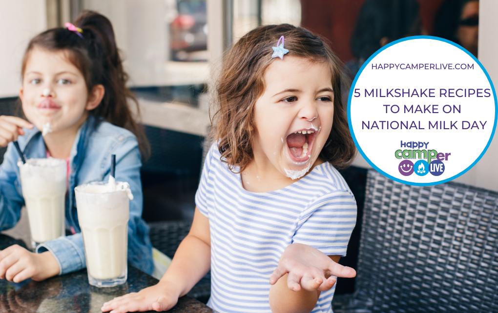 kids drinking milkshakes