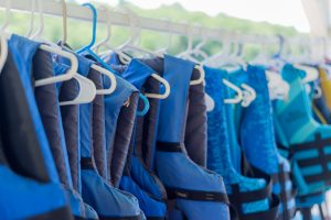 summer camp life vests