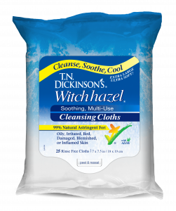 T.N. Dickinson's Witch Hazel Cleansing Cloths